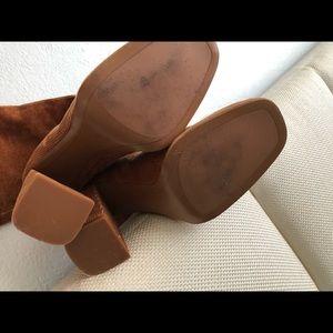 Zara Shoes - Zara corduroy heeled boots